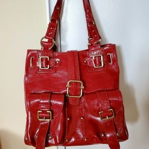 NWOT Chinese laundry red bag
